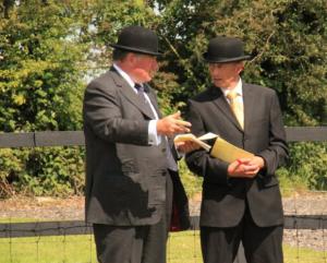 The Judges - Major CJ Seed & Mr R. Moffatt