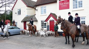 Meet at The Vine, Hannington